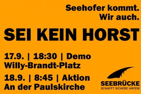 Sei kein Horst